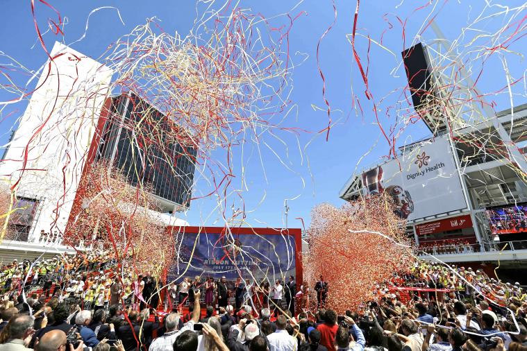 Levi's Stadium Opening Highlights Top Features Included in 49ers' New Home