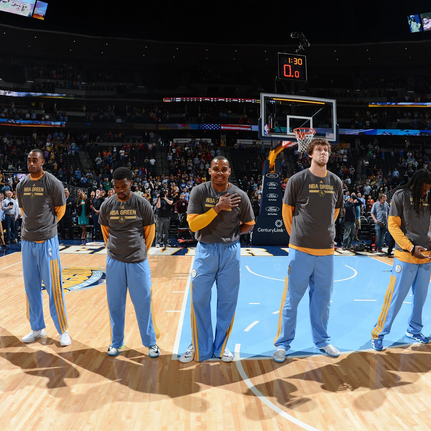 Nuggets Starting Lineup