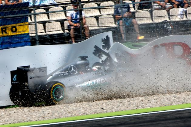 Hamilton Incurs Grid Penalty for Gearbox Change