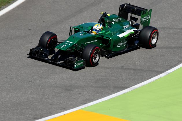 Ericsson Penalized for Caterham Parc Ferme Irregularity