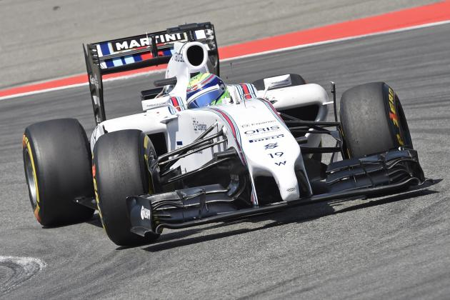 Massa out After Collision with Magnussen