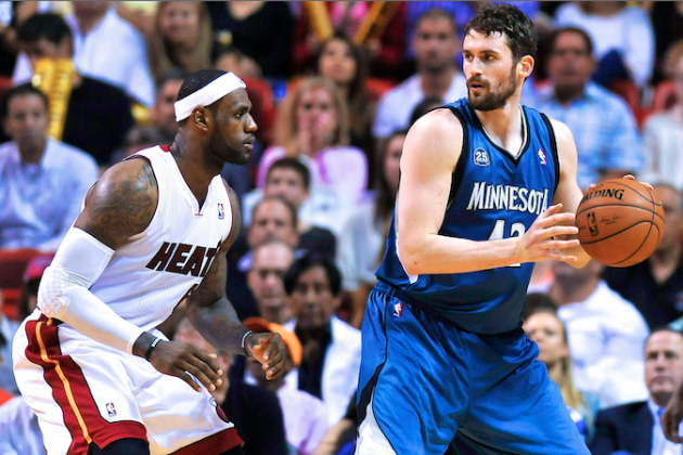 Kevin Love Trade Would Put Serious Pressure on LeBron James