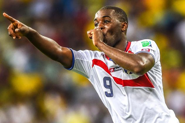 Joel Campbell Jets into London to Try to Save His Arsenal Career