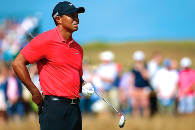 Tiger Woods at British Open 2014: Day 4 Leaderboard and Twitter ...