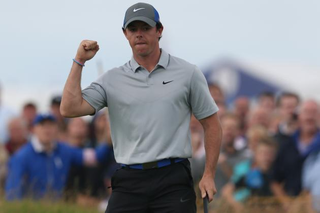 British Open Results 2014: Real-Time Updates for All Day 4 Leaders
