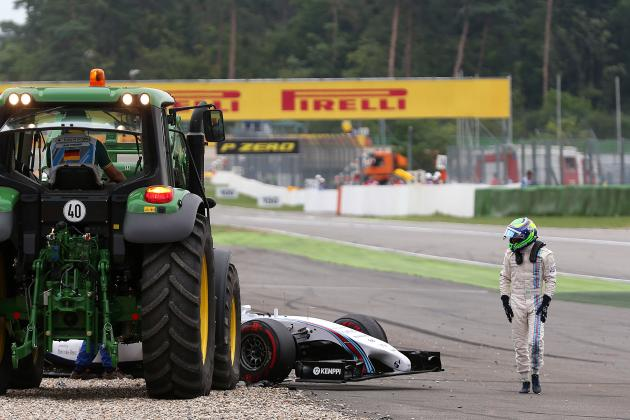 Massa Blames Magnussen for First-Corner Crash