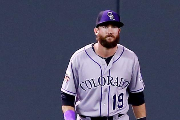 Charlie Blackmon and Corey Dickerson Sitting Sunday vs. Pirates