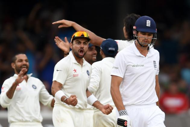 England vs. India, 2nd Test: Day 4 Highlights, Scorecard, Report