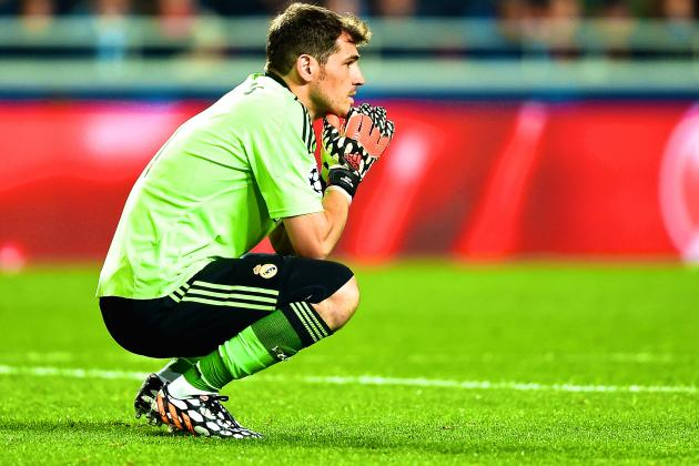 Iker Casillas Quickly Approaching a Sad Ending to His Real Madrid Career