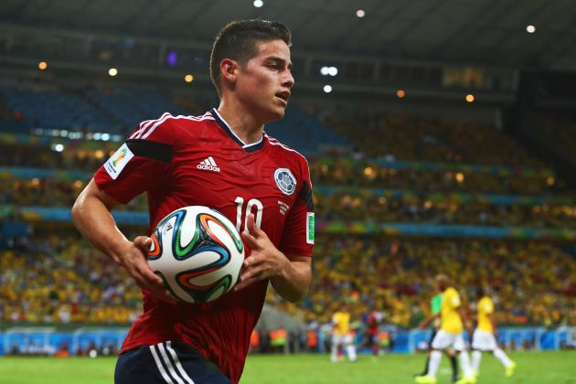 James Rodriguez's Transfer to Real Madrid Would Mark Return of the Galacticos