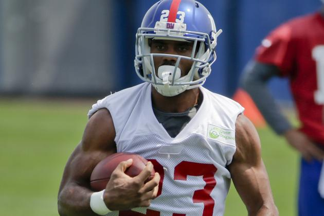 Rashad Jennings: How He Trained for His First Training Camp with the Giants
