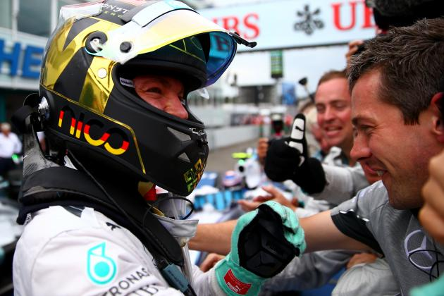 Nico Rosberg Completes Perfect Week at 2014 German Grand Prix