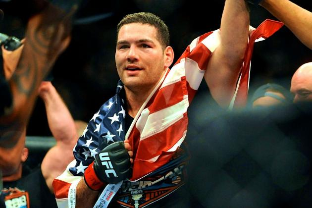 Dana White Interested in Chris Weidman vs. Vitor Belfort in Brazil