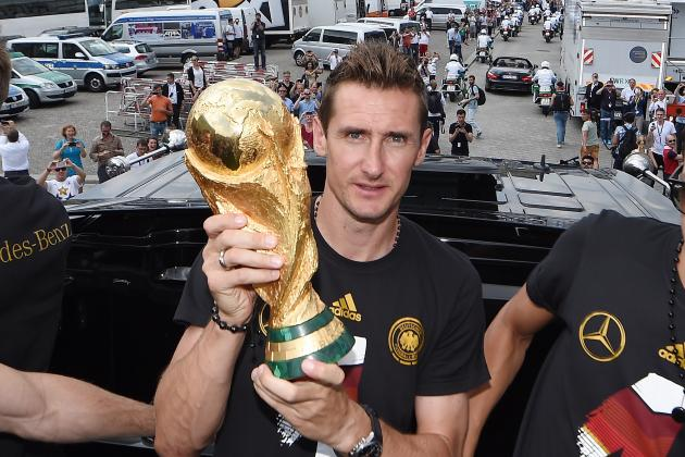 Miroslav Klose Says He Plans on Retiring in 2015