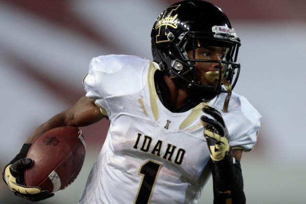 Vandals Dimiss WR Epps from Team