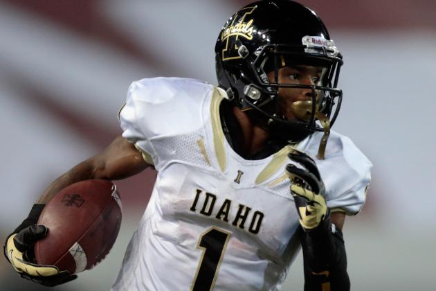 Idaho Football Team Dismisses Top Receiver Dezmon Epps