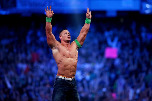 John Cena Retains WWE Title in Fatal 4-Way Match at WWE Battleground