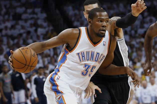 Is It Time for OKC Thunder to Move Kevin Durant to Power Forward?