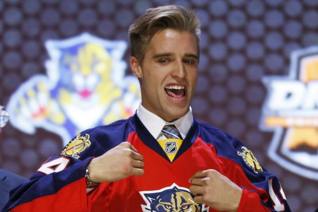 Aaron Ekblad Learns Lessons from Florida Panthers Prospect Camp
