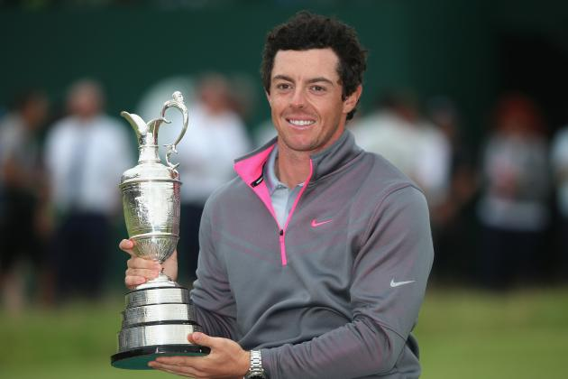 Rory McIlroy's Updated 2014 PGA Season Predictions After British Open Win