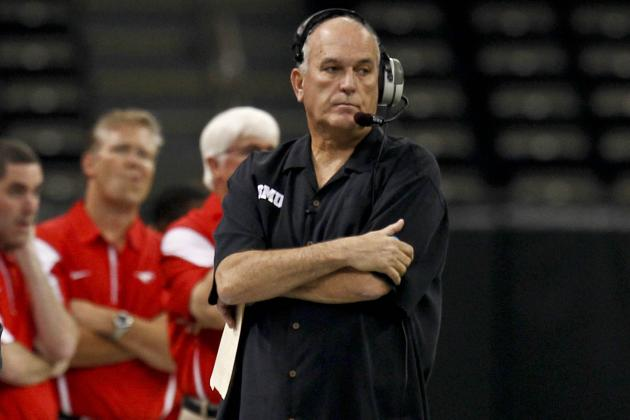 June Jones Whiffs on Spring Football Idea