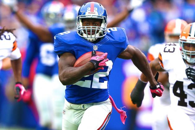 David Wilson Injury: Updates on Giants RB's Recovery from Neck Surgery