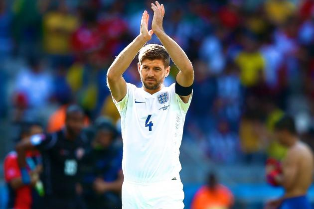 Steven Gerrard Announces Retirement from International Football