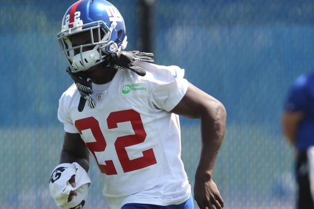David Wilson News Is All Positive for Giants