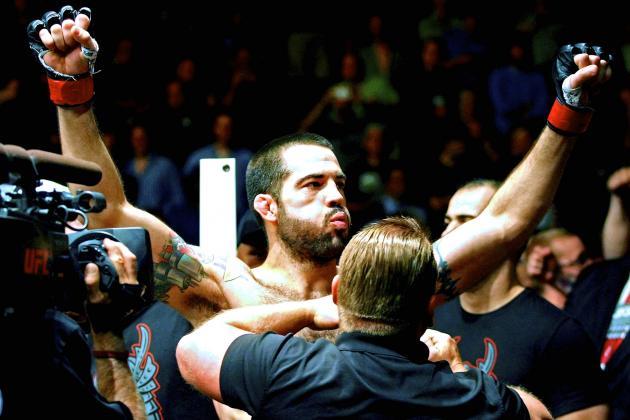 UFC on Fox 12: Is Matt Brown in over His Head Against Robbie Lawler?