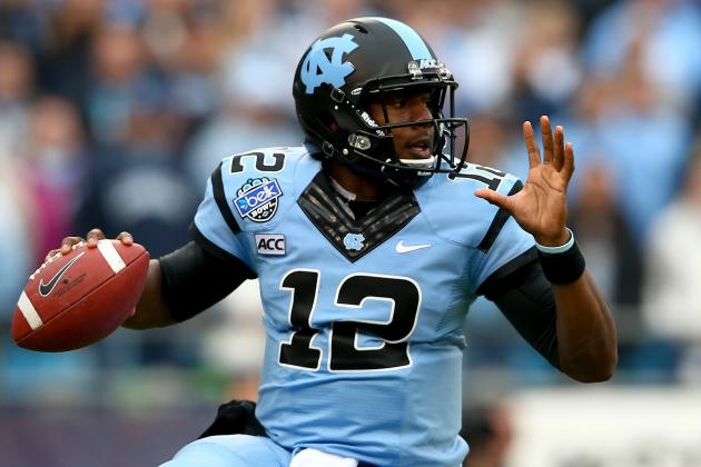 UNC QB Williams Confident, Ready to Get Throwing