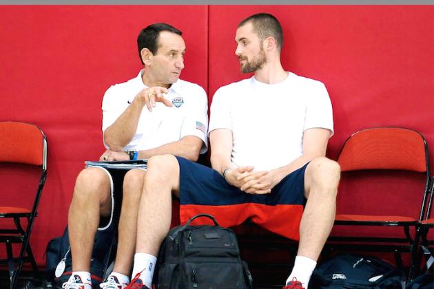Duke Coach Mike Krzyzewski Says He'd Trade Andrew Wiggins for Kevin Love