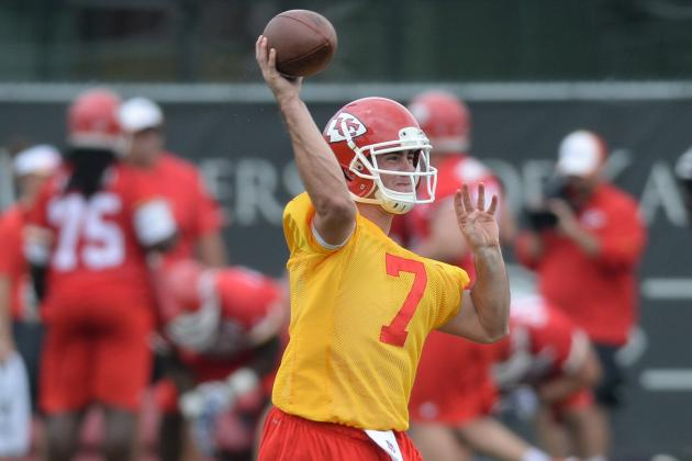 Chiefs Quarterback Aaron Murray Says He's 'full Go' for Training Camp