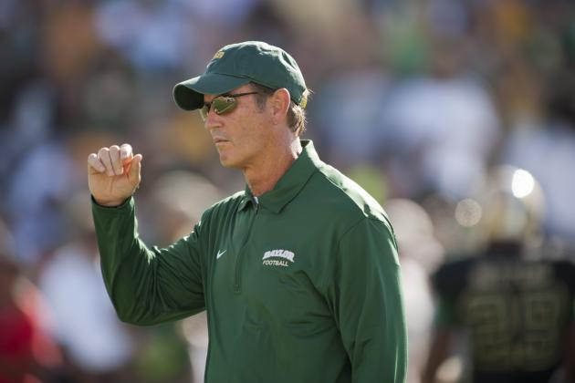 Big 12 Football: No Change in Baylor Schedule