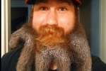 This Nationals Fan Has the Best Beard Ever
