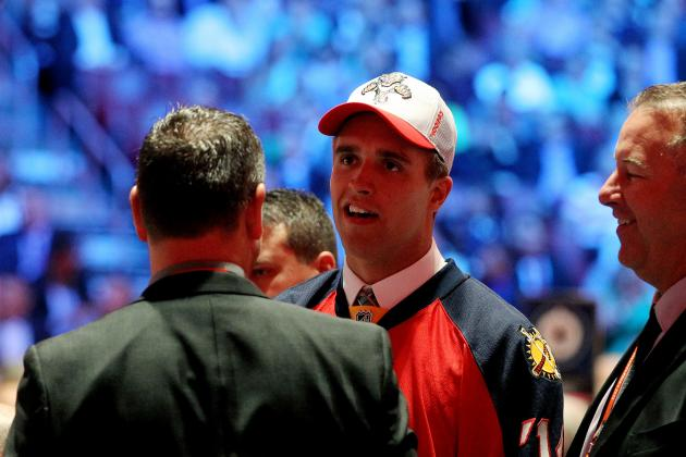 Panthers Top Pick Aaron Ekblad's Eager to Earn Spot