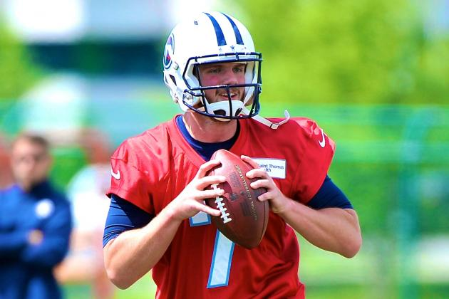 Report: Titans QB Zach Mettenberger Sucker-Punched by Man in Nashville Bar