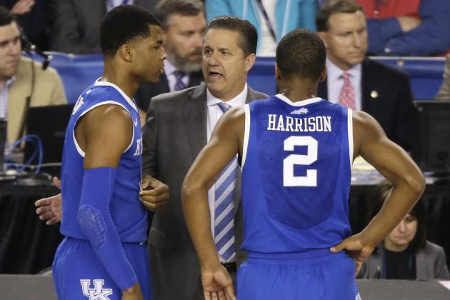 "Kentucky's John Calipari: ""Boy Is It Nice to Have Returning Players"""