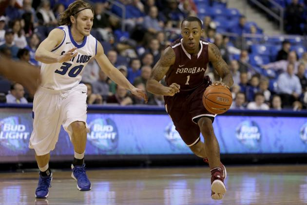 Fordham's Mandell Thomas Hoping for More Consistency in Junior Season