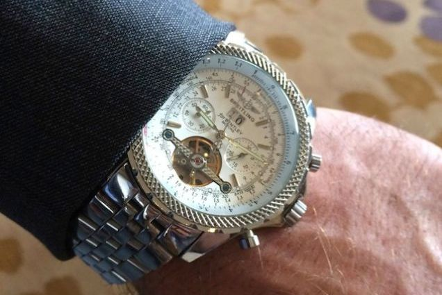 Kliff Kingsbury's Expensive Breitling Watch May Have Been a Fake