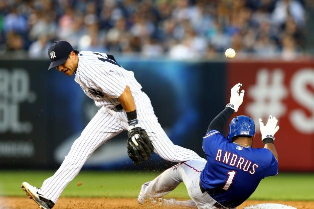Rangers Top Sloppy Yankees Past 4-2