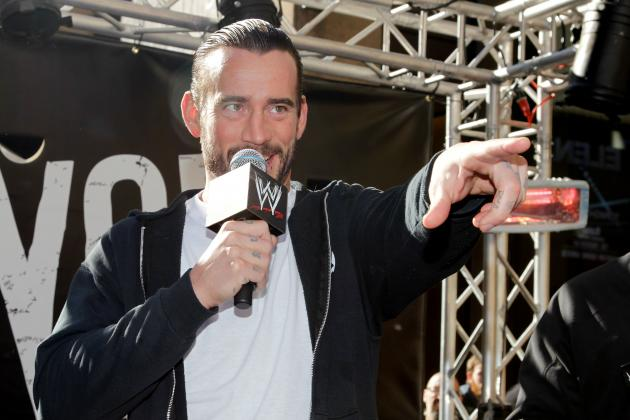 CM Punk Discusses His Future with WWE During Interview at AP Music Awards