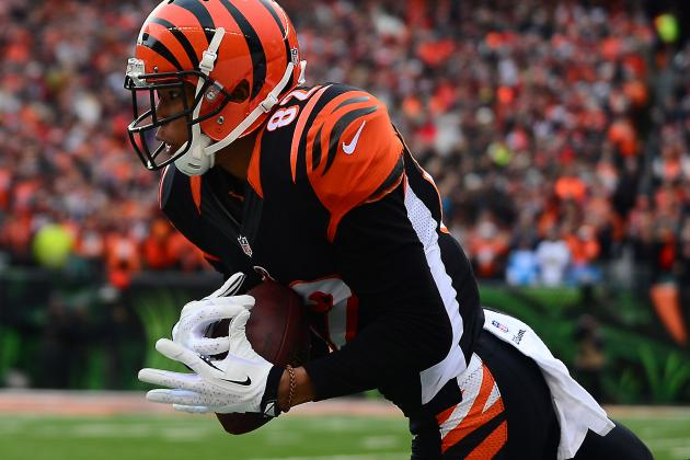 Marvin Jones Tweaked Ankle Working out with Andy Dalton
