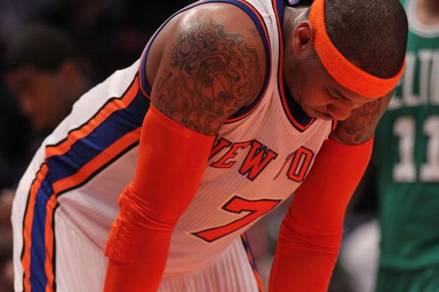 How Derek Fisher Can Best Utilize Carmelo Anthony