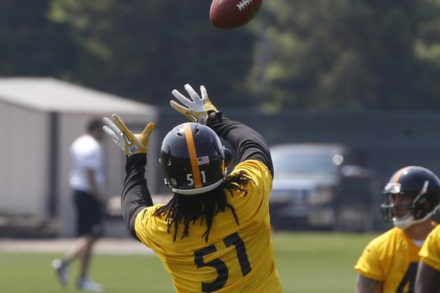 2014 Steelers Season Scenarios: LB Sean Spence Plays 500 Snaps