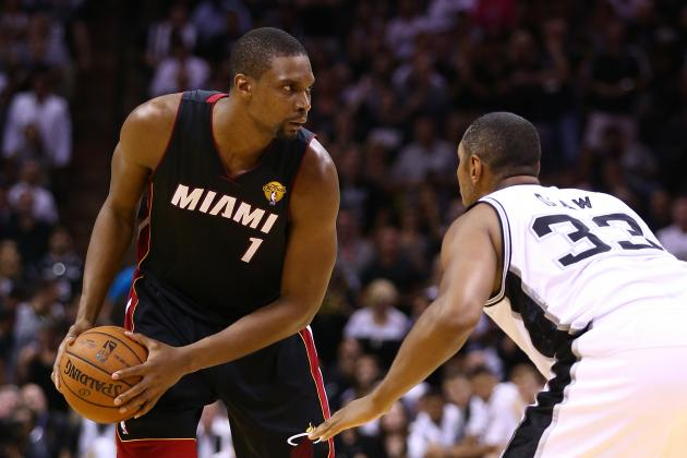 How Chris Bosh Must Adjust to Being 'The Man' for the Miami Heat