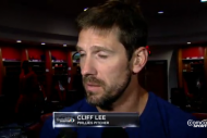 Cliff Lee Concludes Interview with Loud Fart, Asks…
