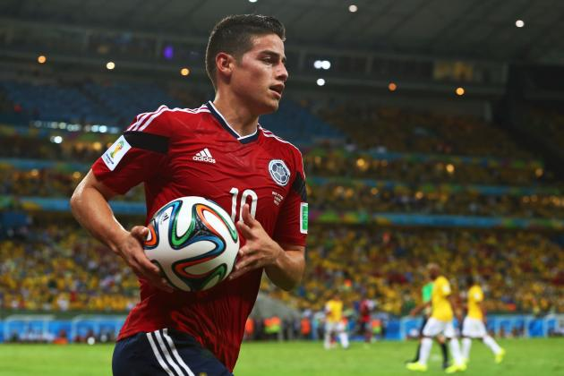 Real Madrid Transfer News: How James Rodriguez Will Alter Los Blancos Attack