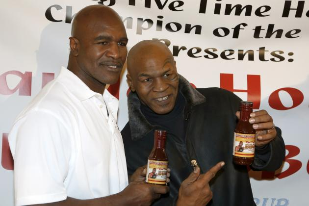 Mike Tyson to Induct Evander Holyfield into Nevada Boxing Hall of Fame