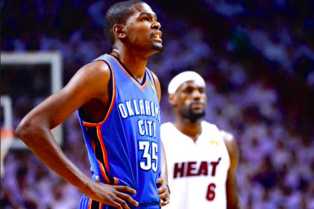 Kevin Durant Talks Pressure, LeBron James and Being Nice with an Edge