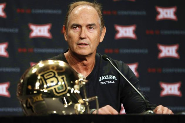 Big 12 Brass, Coaches Come out Firing at Media Days, Why It's a Good Thing